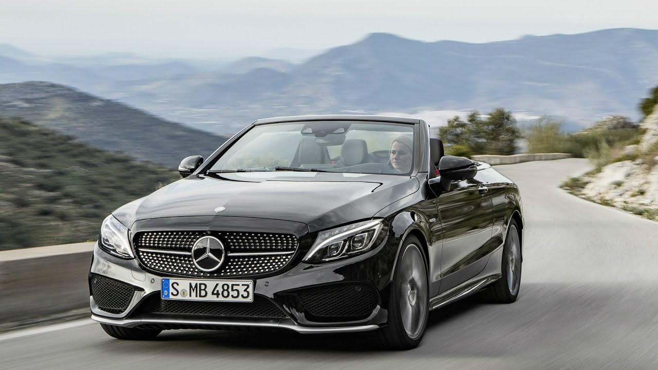 2016 mercedes amg c43 4matic cabriolet drive youtube. Black Bedroom Furniture Sets. Home Design Ideas