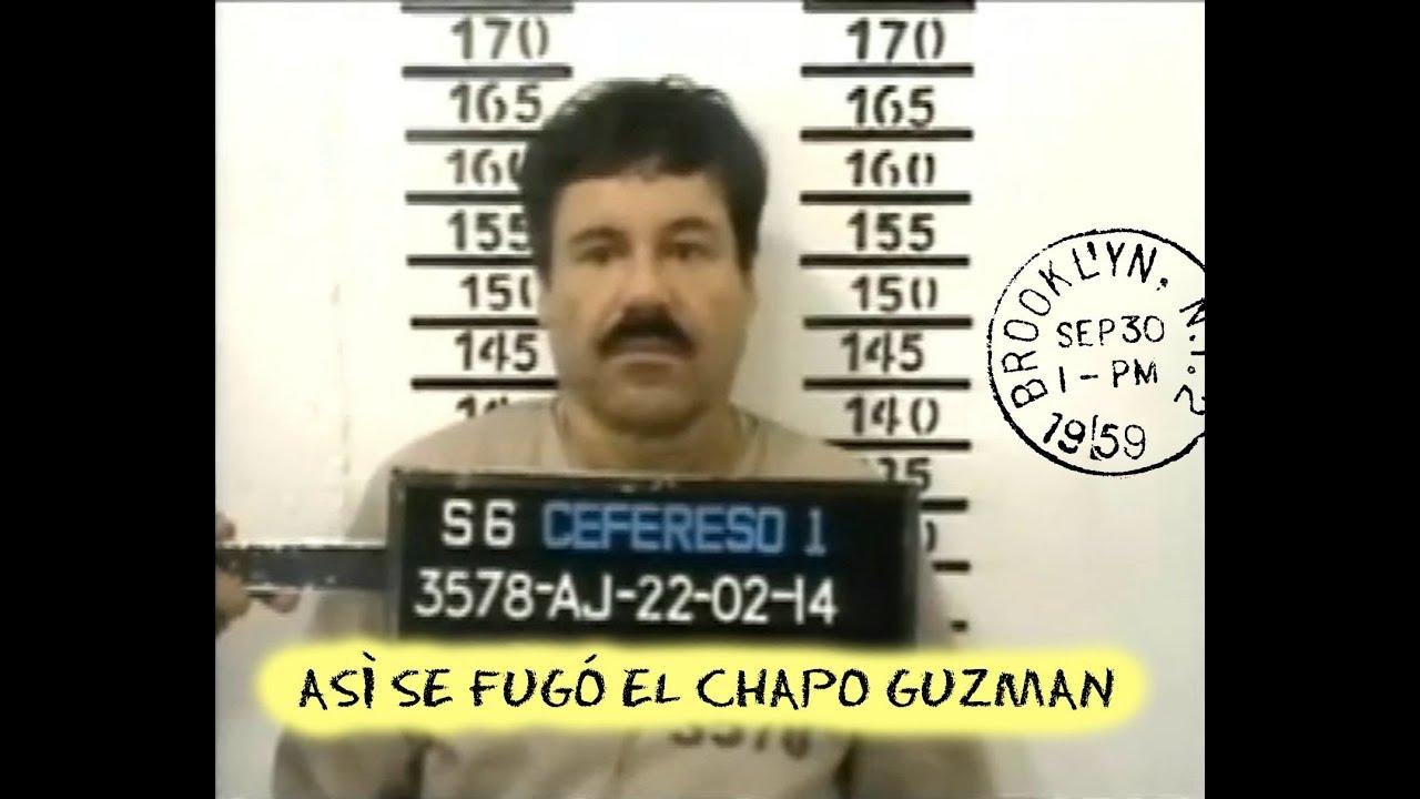 ASÍ SE FUGÓ EL CHAPO GUZMAN