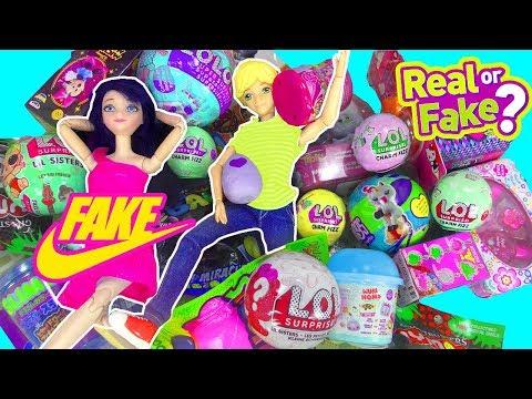 LOL FALSA | Marinette y Adrien abren muchos juguetes falsos | Slime