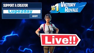 Fortnite Custom matches (NA East)! Gamer girl! Live stream! Road to 1.5k Subscribers!