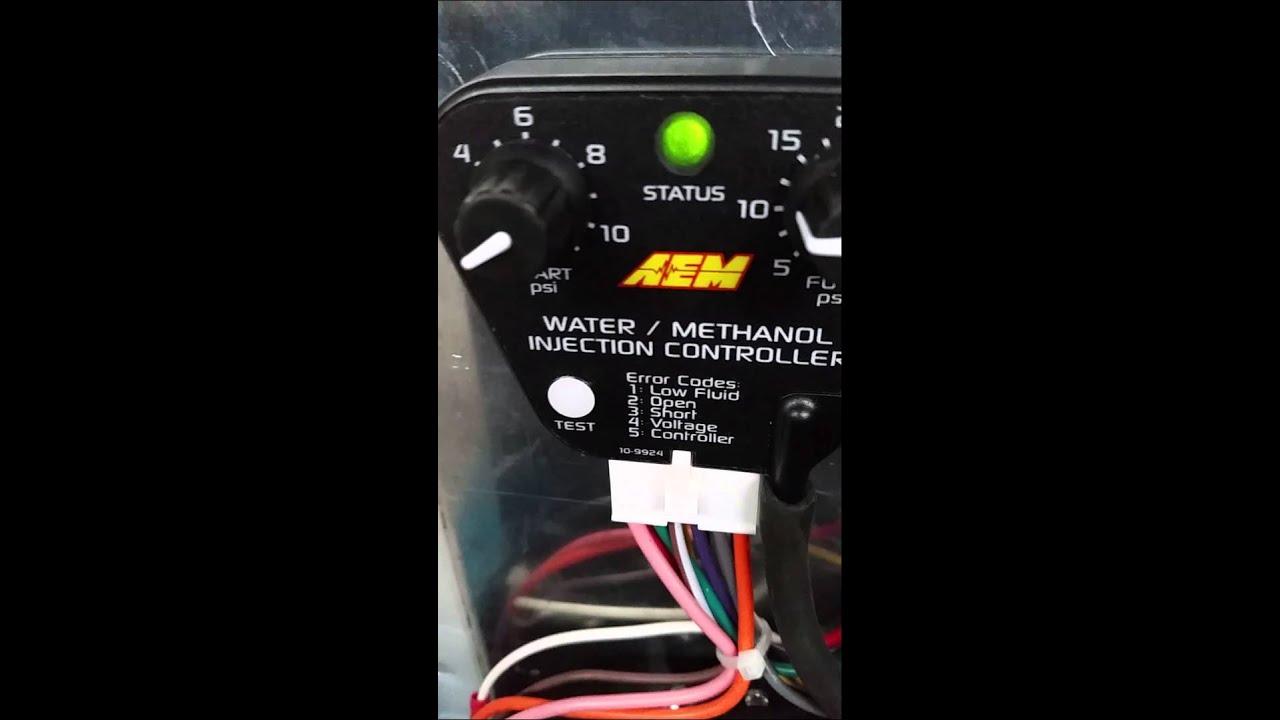 Aem Meth Kit Youtube Water Methanol Wiring Harness