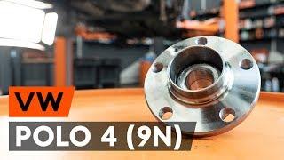 Urmăriți un ghid video despre înlocuire VW POLO (9N_) Cablu Frana De Mana