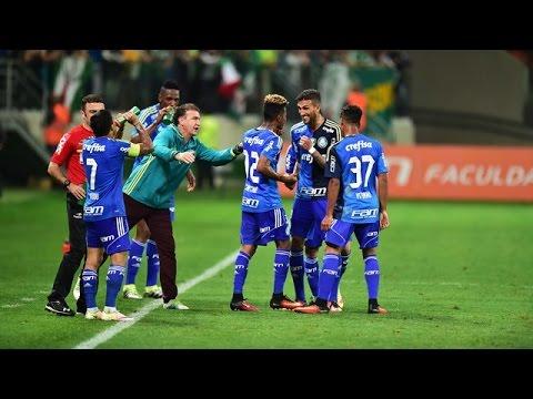 Palmeiras 3 x 0 Botafogo-PB - Melhores Momentos - Copa do Brasil 2016