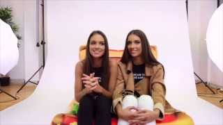 Q&A with The Twins - Renee and Elisha Herbert at Peppermayo HQ!