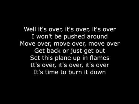 Skillet - Burn It Down (Lyrics HD)