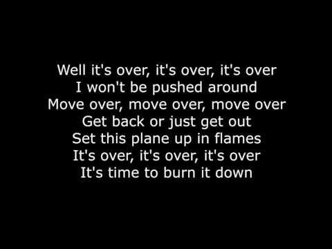 Skillet  Burn It Down Lyrics HD