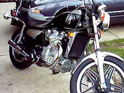 1981 honda cx500 custom youtube. Black Bedroom Furniture Sets. Home Design Ideas
