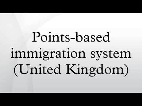 Points-based immigration system (United Kingdom)