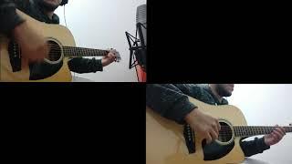 u.f.o - coldplay | guitar cover