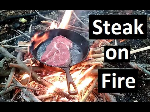 Steak On Fire - Friday Food