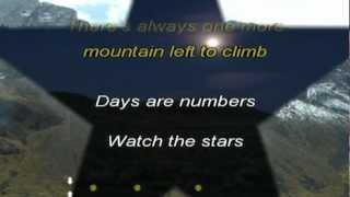 DAYS ARE NUMBERS - ALAN PARSONS (Karaoke)