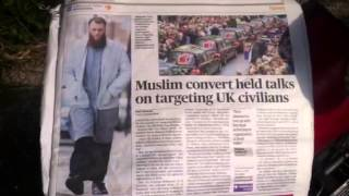 Muslims, British Soldiers and the Evening Standard