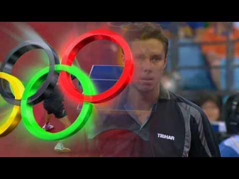2008 Olympics China  Jorgen Person vs Vladimir Samsonov BLR