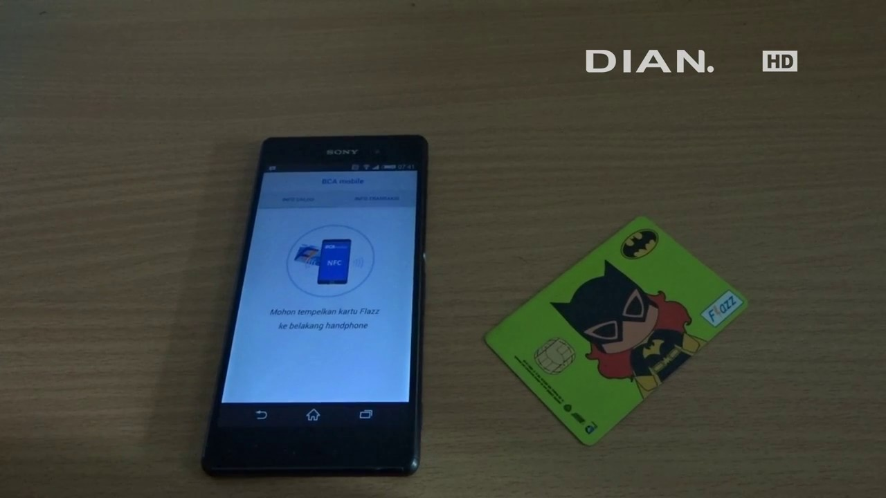 Cara Cek Flazz Bca Lewat Nfc Android Youtube