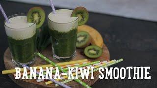 Banana-kiwi smoothie  [BA Recipes]