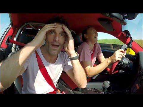 شاهد: ماريا شارابوفا تعود للتنس بالفورمولا 1  - نشر قبل 3 ساعة