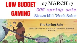 Low Budget Gaming : Deals,Sales 07 March 2017 (THQ Classics, BloodRayne, Deus Ex GOTY)
