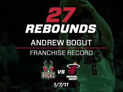 50th Season Countdown: 27 Days - Andrew Bogut Sets BMOHBC Rebound Record