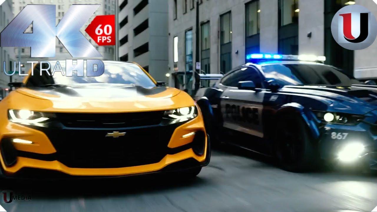 Download Transformers 5 The Last Knight Bumblebee vs Barricade Bluray (FULL HD)