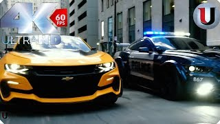 Transformers 5 The Last Knight Bumblebee Vs Barricade Bluray Full Hd