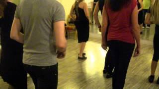 kizomba.Кизомба шаги, видео урок. Kizomba dance, basic step.