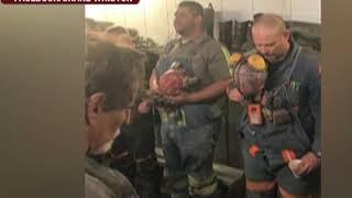 West Virginia Coal Miner Sings National Anthem