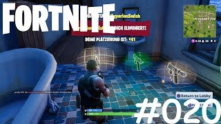 Let's Play Fortnite #020 [Deutsch] [HD] [PS4 PRO] - Hier ist noch Jemand