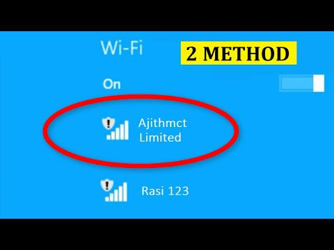 How To Fix Limited WiFi Connection On Windows 10/8/7 || Fix Limited WiFi Connection Error