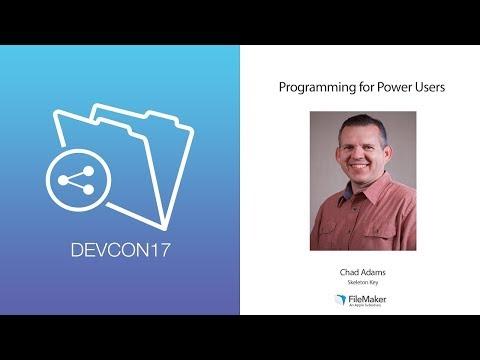 Programming for Power Users (Beginner 004)