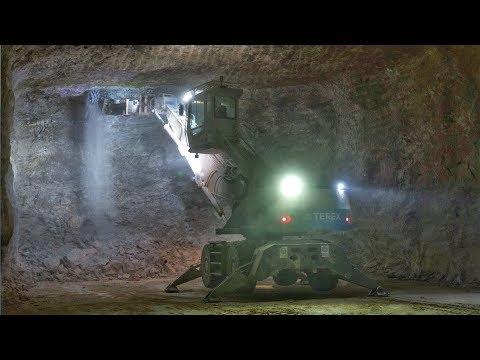 1000 Foot Underground In A Salt Mine