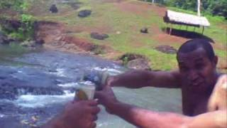 Engan Jokes - Some Fun at Veriarata Park - Outside Port Moresby Papua New Guinea