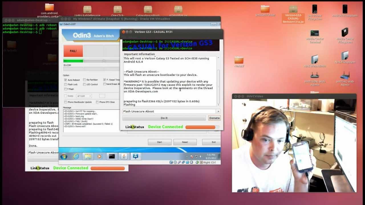 Unlocked Bootloader through Terminal Emulator: How can you