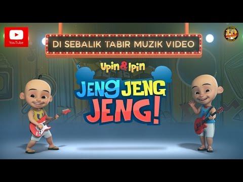 Di Sebalik Tabir Muzik Video OST Filem Upin & Ipin Jeng Jeng Jeng!