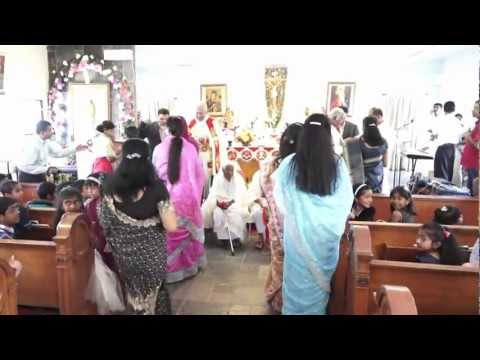 MOTHER'S DAY Celebration at St:Thomas Church Santa Ana-CA