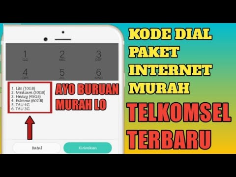 5 DIAL CODE OF CHEAP INTERNET INTERNET PACKAGE 2018 + WINNERS GIVING THE BEGINNING OF PULSA