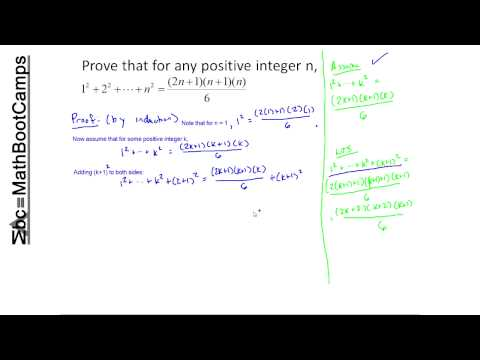 Examples of Proof by Induction (Discrete Math)