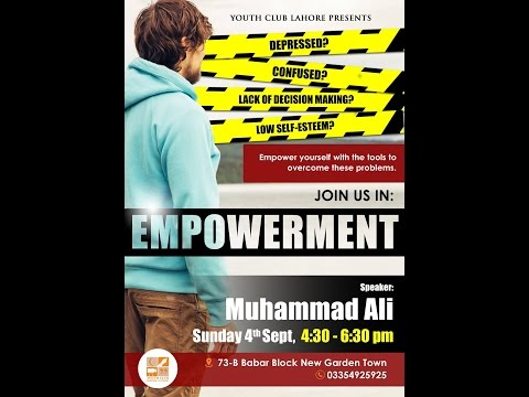 Empowerment ┇ Full Lecture ┇Muhammad Ali┇YouthClub Production