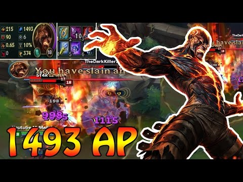 ~1500 AP BRAND - Damage Test + German Gameplay