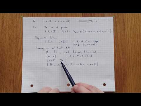 1.8 Separation schema - an overview