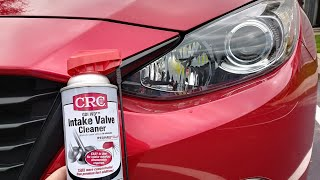 How to use CRC GDI Intake Valve and Turbo Cleaner - General Maintenance That's Terrifying