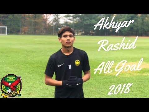GOL AKHYAR RASHID 2018 KEDAH FA