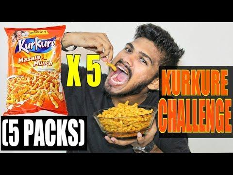 Kurkure Challenge (India) | 5 Packets of Kurkure Challenge | Food Challenge India (Episode-17)