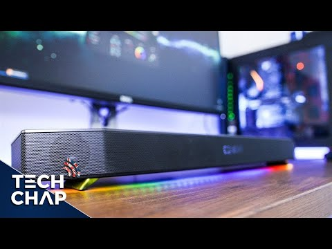 Sound Blaster KATANA Soundbar Review | The Tech Chap