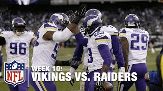 Adrian Peterson 80-Yard TD + Terrence Newman INT = Vikings Win! | Vikings vs. Raiders | NFL