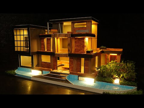 How to Build a Luxury Villa with 999 Mini Bricks