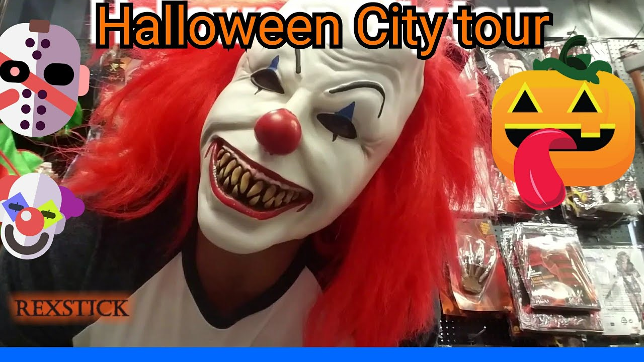 Halloween City costumes and mask review Dayton Ohio halloween city Rexstick  sc 1 st  YouTube & ? Halloween City costumes and mask review Dayton Ohio halloween ...