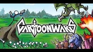 Descarga Cartoon Wars APK MOD 1.1.2   DINERO ILIMITADO      MEDIAFIRE