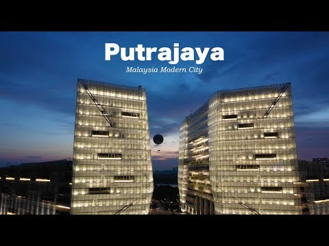 Beautiful Evening in Putrajaya - Malaysia - Oct 2018