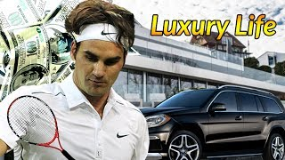 Roger Federer Luxury Lifestyle | Bio, Family, Net worth, Earning, House, Cars