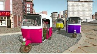 Thailand Tuk Tuk Auto Rickshaw Driving    DroidGamingTV